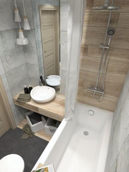 Small Scandinavian Bathroom Enjoy The Aesthetics Of