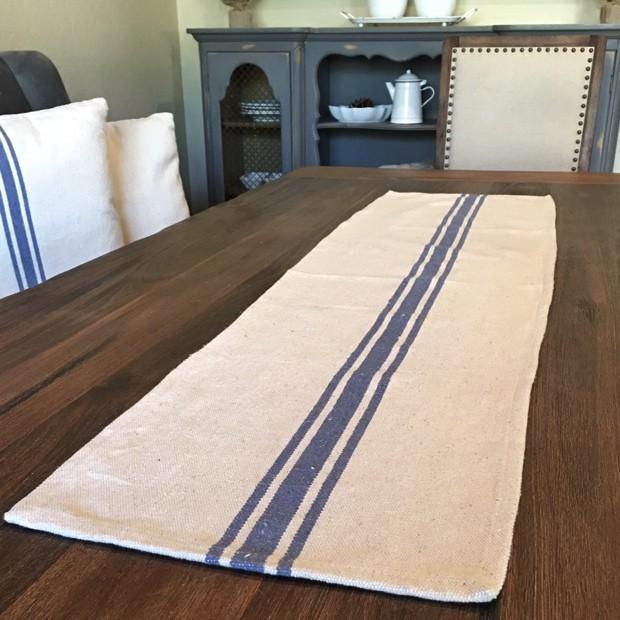 grain-sack-blue-stripe-cotton-table-runner