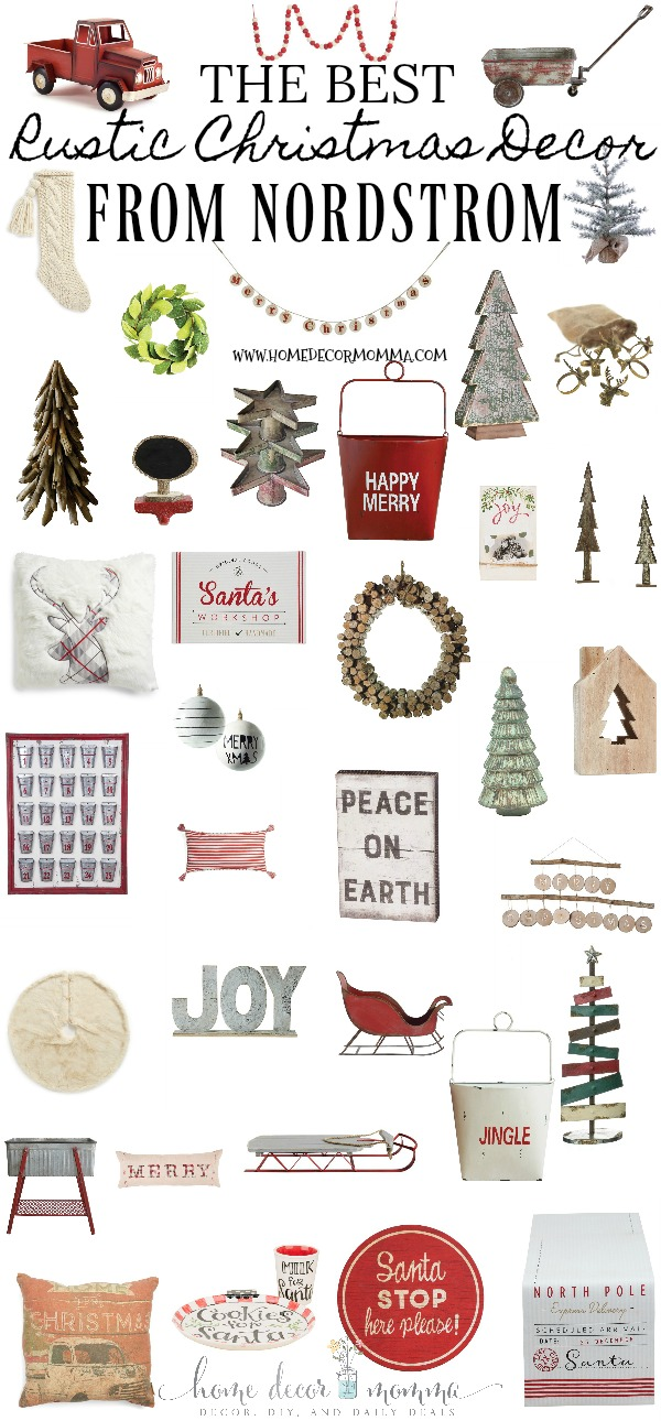 rustic christmas decor from nordstrom everything on my guide is on sale and ships for free there were way to many cute holiday pillows to include so - Rustic Christmas Decor For Sale