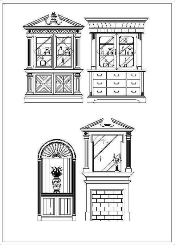 Furniture Elevation Design Autocad Blocks Drawings Download Site