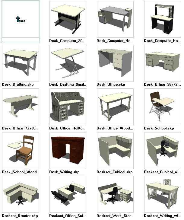 Sketchup Beds 3D models download