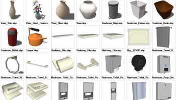 Sketchup Doors 3D models download – Autocad Blocks
