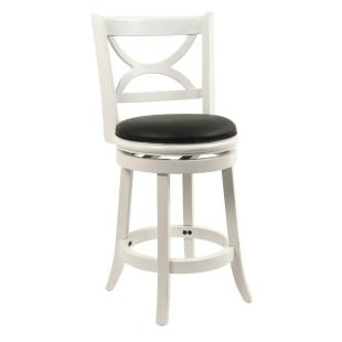 Image result for 24 white chair stools with cushion