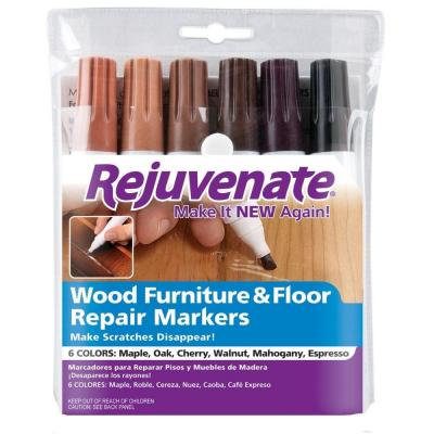 Rejuvenate Wood Furniture and Floor Repair Markers