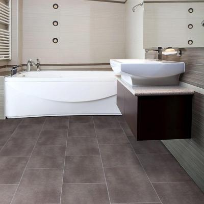 TrafficMaster Ceramica 12 in. x 24 in. Coastal Grey Vinyl Tile Flooring (30 sq. ft./case)