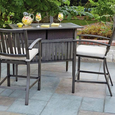 outdoor patio bar sets furniture Outdoor Bar Furniture - Patio Bars - The Home Depot