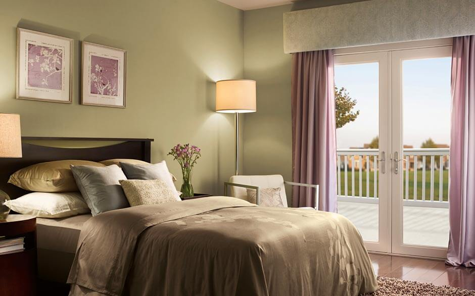 Bedroom   Paint Color Selector   The Home Depot Bedroom