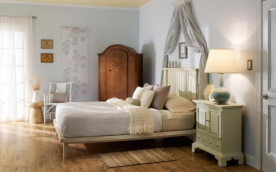 Bedroom   Paint Color Selector   The Home Depot Swedish Bedroom