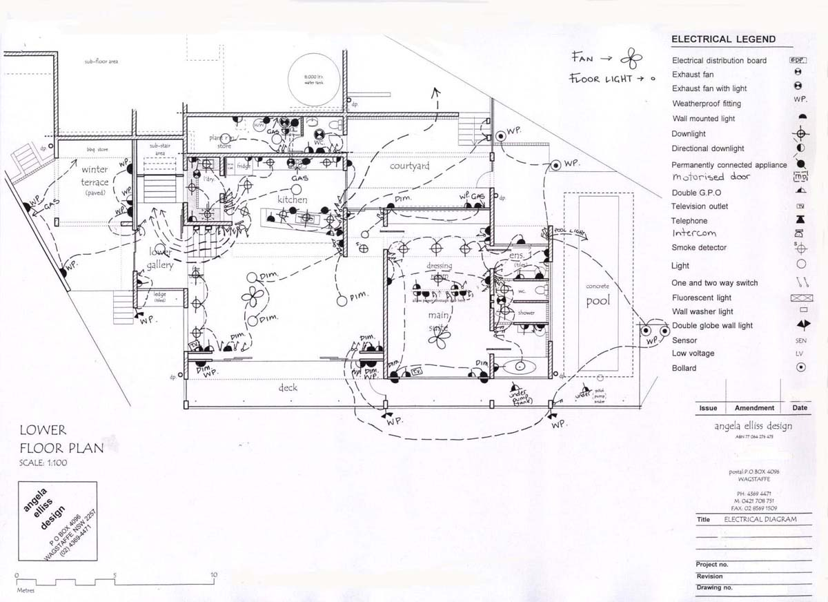 home electrical wiring diagram in indium