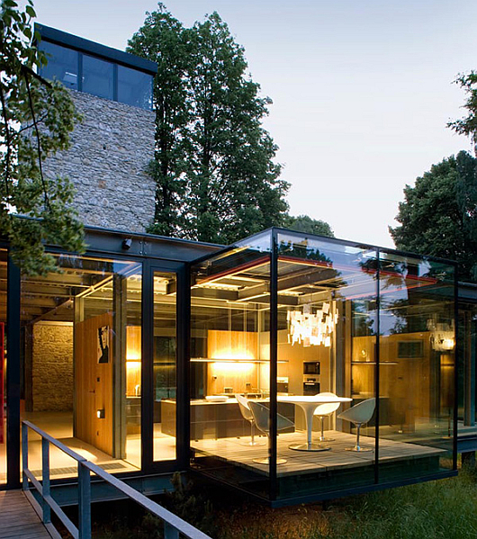 modern glass home krakow 2 architecture