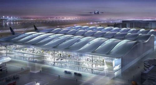 Foster+Partners Heathrow architecture