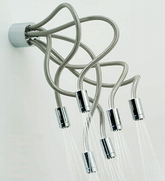 sculpture showerheads by Vado 1