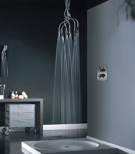 sculpture showerheads by Vado 3