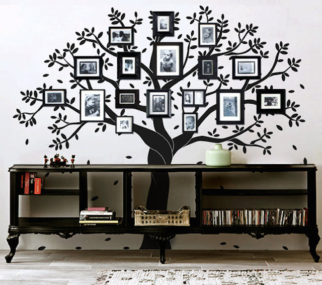 Image result for family tree in interior
