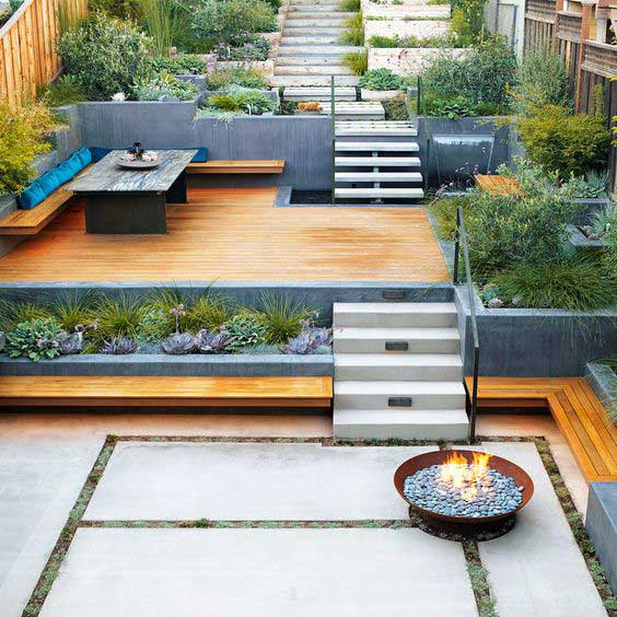 22 Amazing Ideas to Plan a Slope Yard That You Should Not ... on Sloped Yard Ideas id=90303