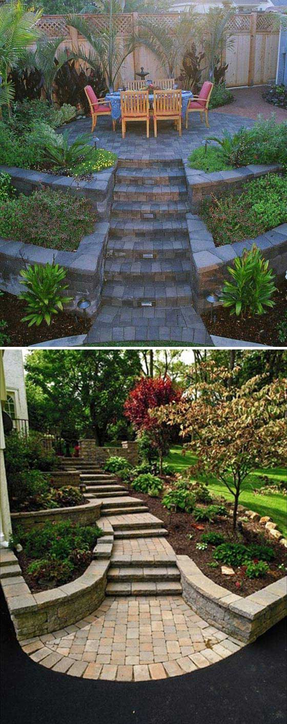 22 Amazing Ideas to Plan a Slope Yard That You Should Not ... on Sloped Yard Ideas id=36331