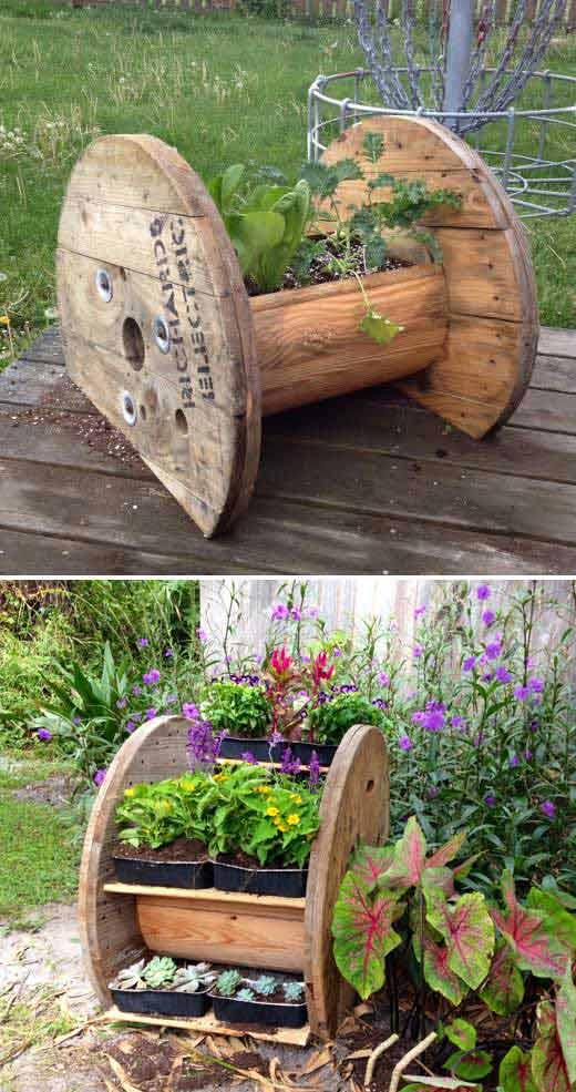 20 Truly Cool DIY Garden Bed and Planter Ideas ... on Backyard Patio Landscaping id=14217