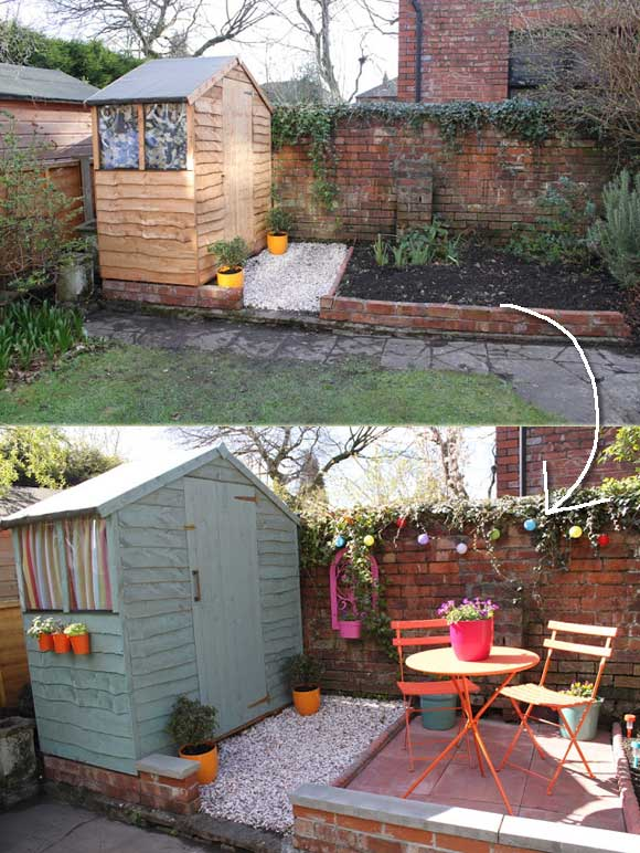 23 Easy-to-Make Ideas Building a Small Backyard Seating ... on Back Garden Seating Area Ideas  id=32983