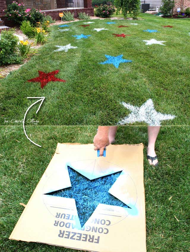 Image result for fourth of july lawn decorations