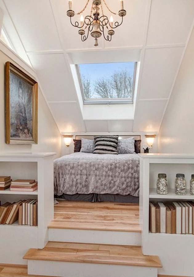 31 Small Space Ideas to Maximize Your Tiny Bedroom ... on Bedroom Ideas For Small Spaces  id=88221
