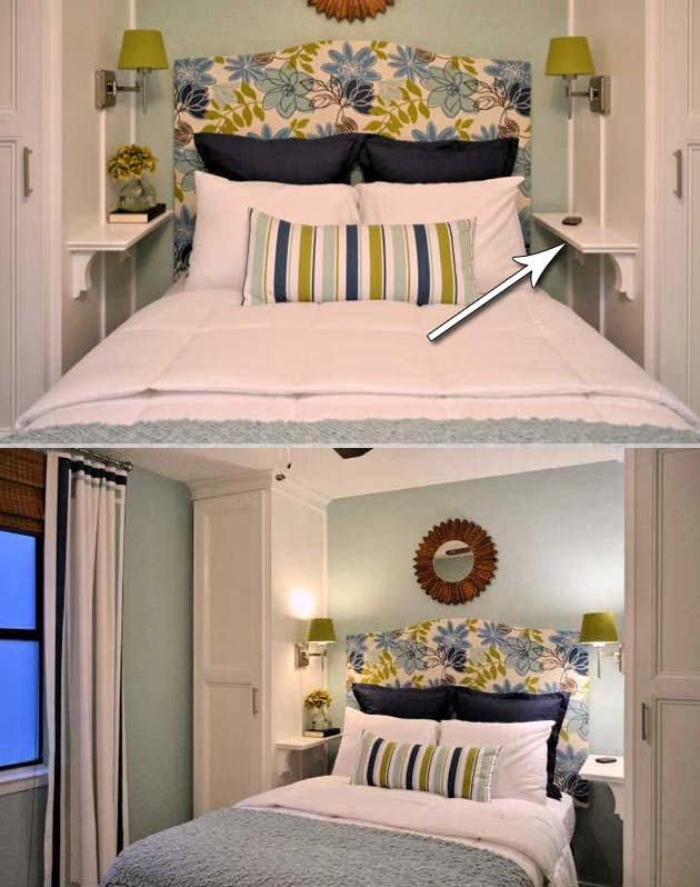 31 Small Space Ideas to Maximize Your Tiny Bedroom ...