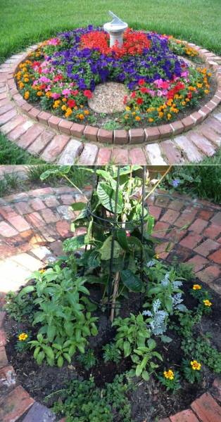 circular flower garden designs Top 19 Cool Ideas to Create a Round Garden Bed with