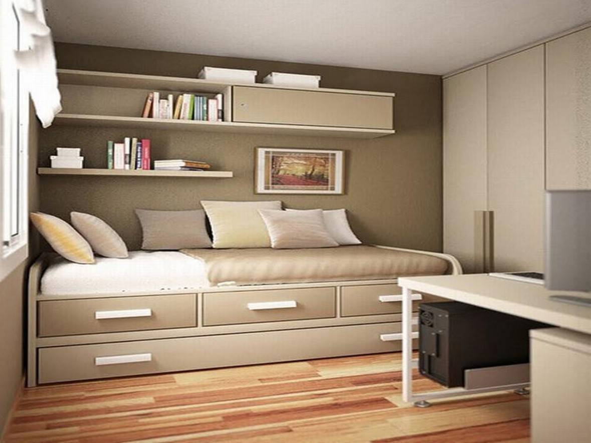 25 Tips For Designing Small Sized Bedrooms Got Bigger With