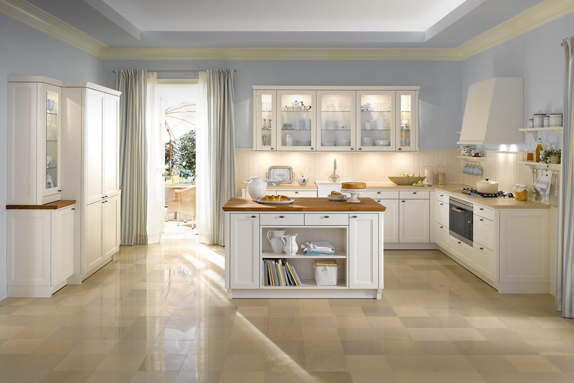 Classic Style Modern Kitchen Designs from WARENDORF ...