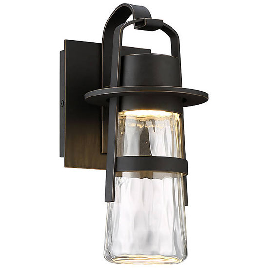 Modern Forms Balthus LED Indoor/Outdoor Wall Sconce - A ... on Modern Outdoor Wall Sconce id=82036