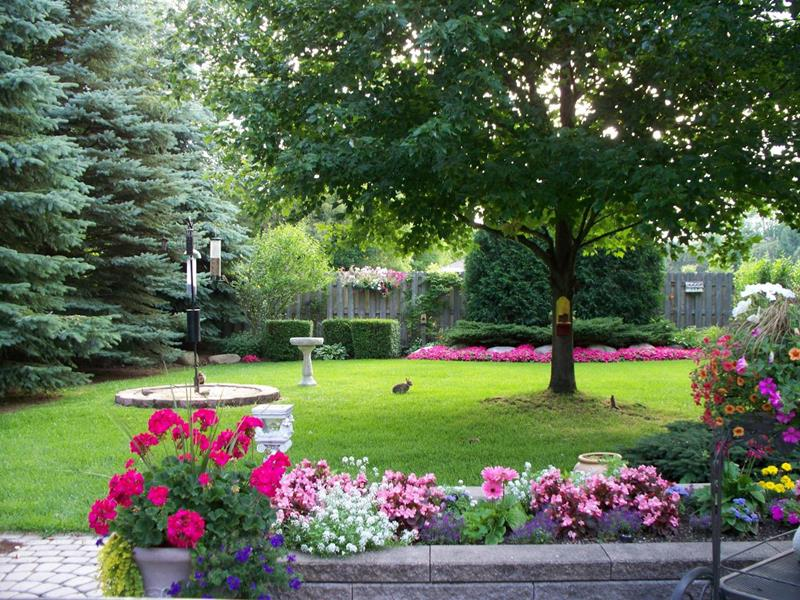 24 Beautiful Backyard Landscape Design Ideas - Page 5 of 5 on Beautiful Backyard Ideas id=42221