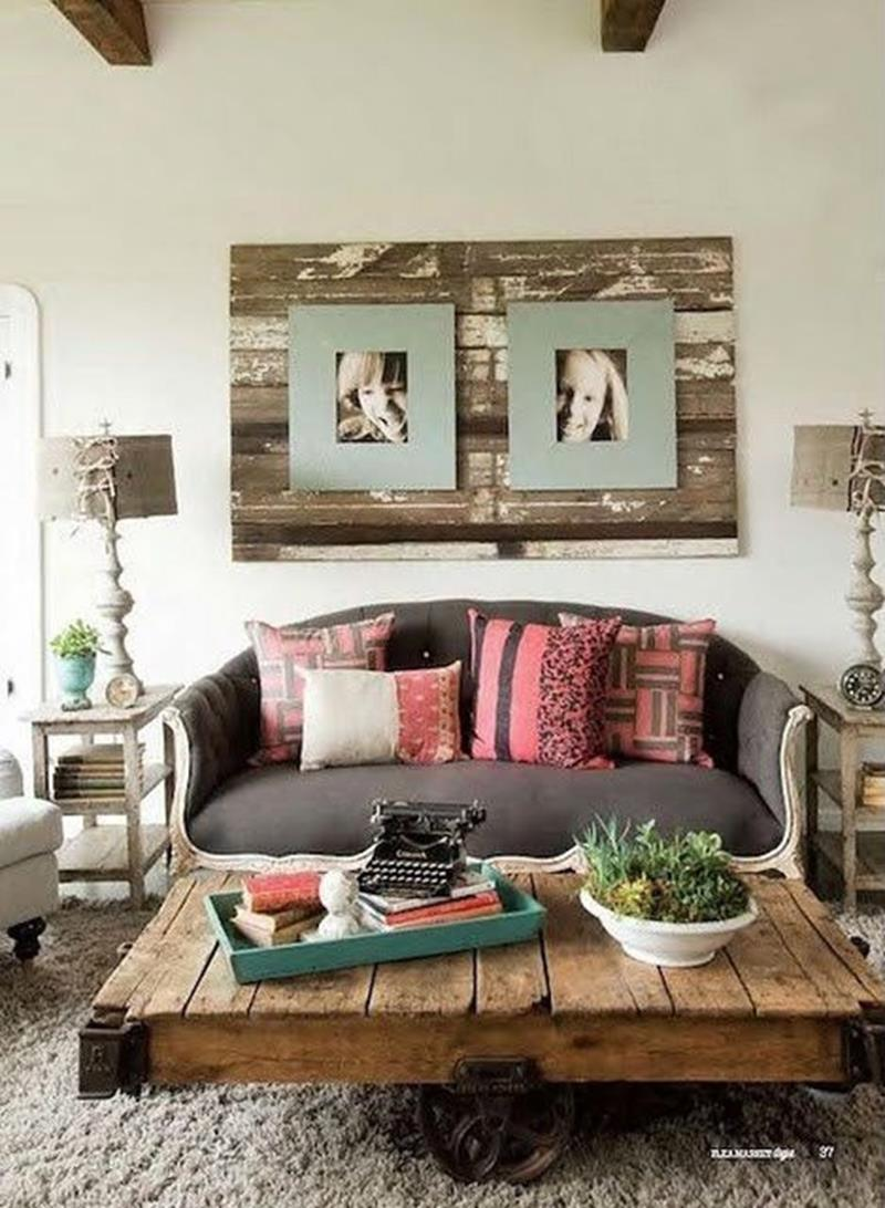 23 Shabby Chic Living Room Design Ideas - Page 3 of 5