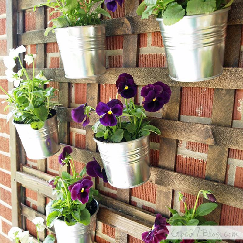 19 Inspirational Ideas for Recycled Planters and Hanging ... on Plant Hanging Ideas  id=15562