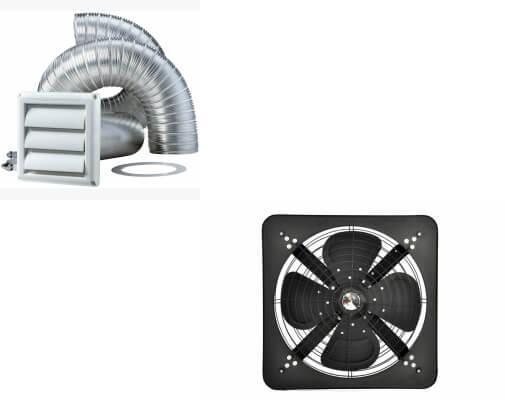 Dryer Vent Extractor Fan
