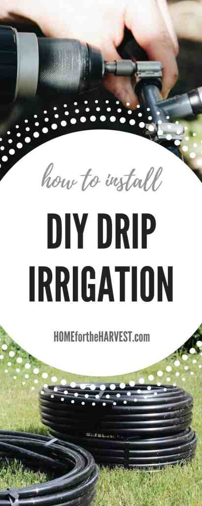 Diy Drip Irrigation Systems How To Install Drip Lines In