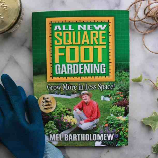 The All New Square Foot Gardening Book | List of Gardening Books - The Best Ones! | from Home for the Harvest | www.homefortheharvest.com