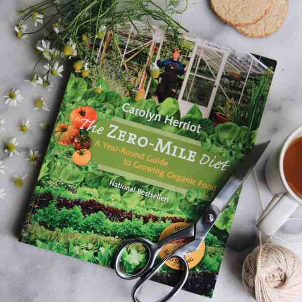 The Zero-Mile Diet Book | List of Gardening Books - The Best Ones! | from Home for the Harvest | www.homefortheharvest.com