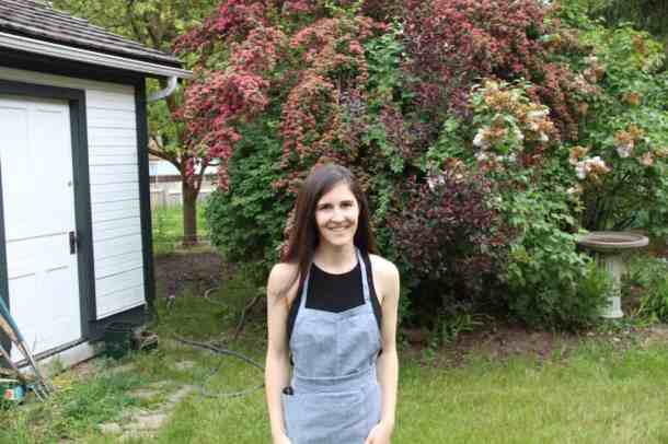 MJ by the Lane Garden | Home for the Harvest Blog