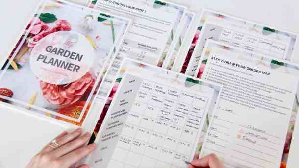 Garden Calendar Planner : Create a planting calendar how to make an easy garden