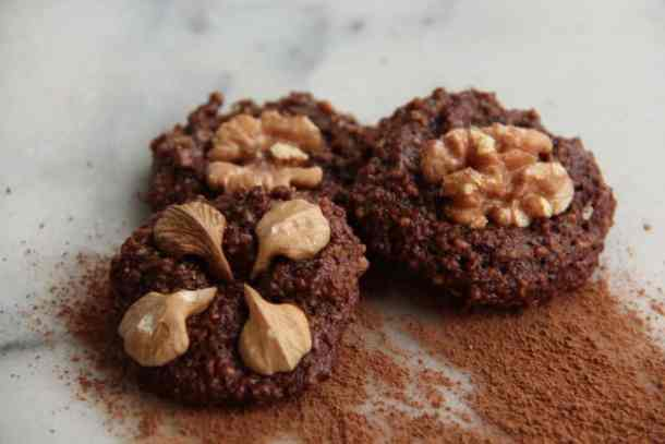 Gluten-Free Chocolate Honey Walnut Cookies | Home for the Harvest