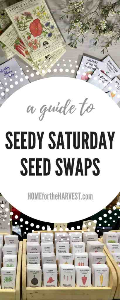 A Guide to Seedy Saturday Seed Swaps - Learn All About Seedy Saturday & Seed Exchanges | Home for the Harvest