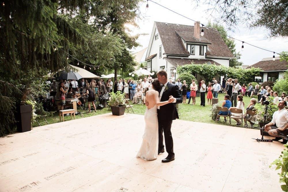 Hosting a DIY Garden Wedding in the Backyard