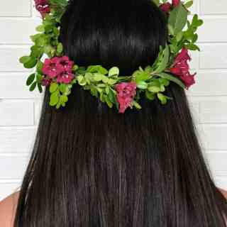 How to Make a Flower Crown - DIY Tutorial | Home for the Harvest
