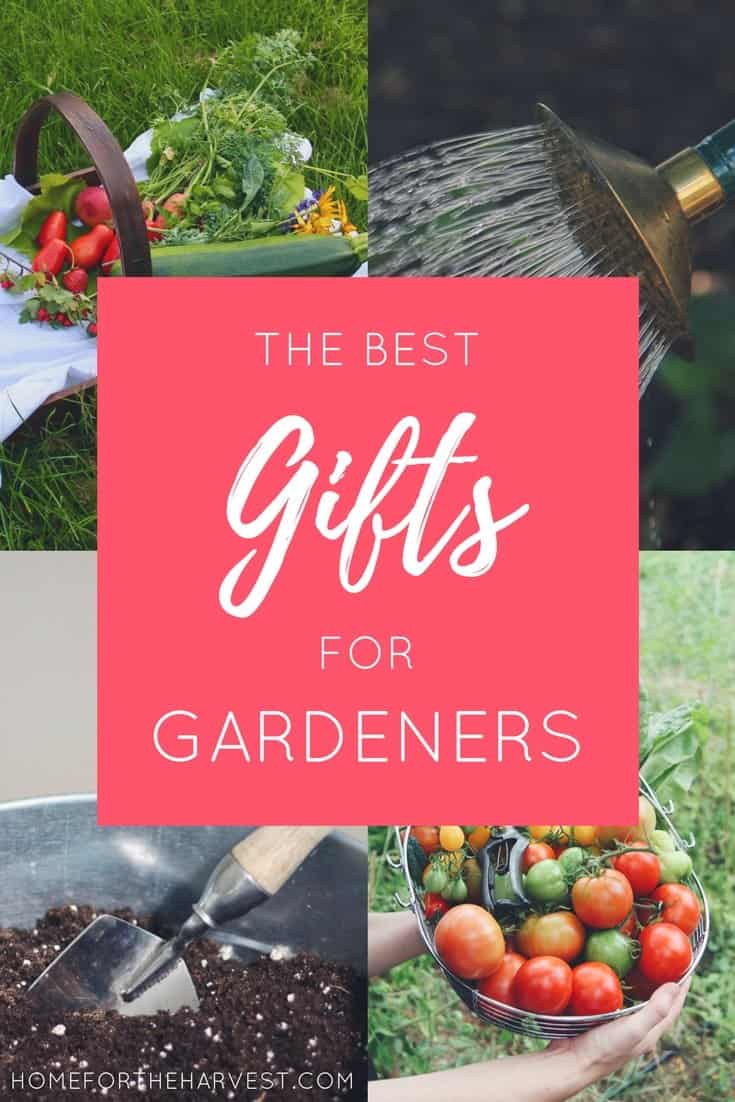 These thoughtful gifts are perfect for the gardener in your life - The Best Gifts for Gardeners | Home for the Harvest
