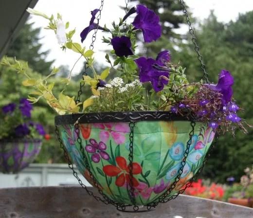 green Toland planter