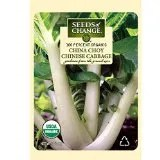 Seeds of Change Certified Organic Chinese Cabbage, China Choy - 150 milligrams, 50 Seeds Pack