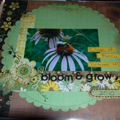 Scrapbooking Garden Journal