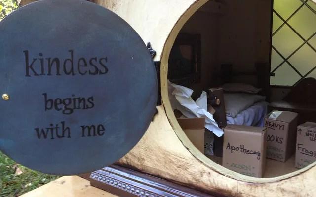 Furnishing Grandma's Fairy House