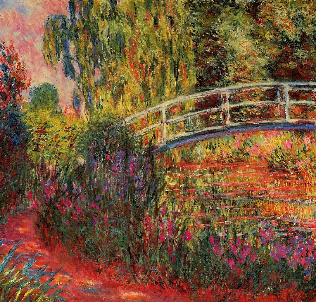 Monets Garden,as he saw it