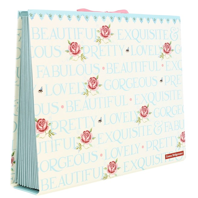 Emma Bridgewater Rose & Bee design stylish expander file