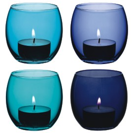 Colourful LSA Coro tealight holders